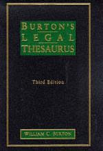 Burtons Legal Thesaurus Pdf